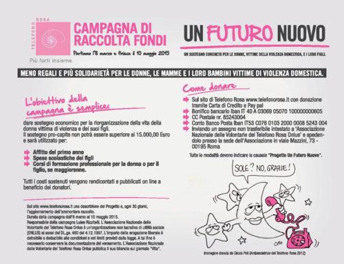 Campagna di Raccolta Fondi Un Futuro Nuovo